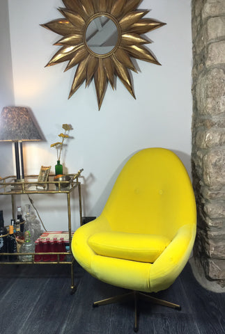Re-upholstered Iconic Egg Chairs