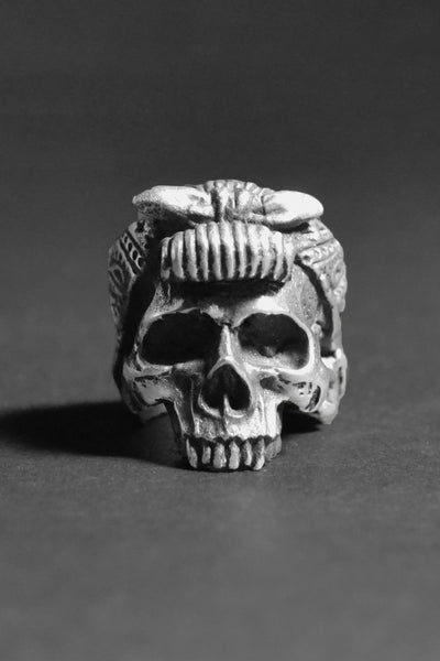 """Pin Up Girl"" Skull Ring"