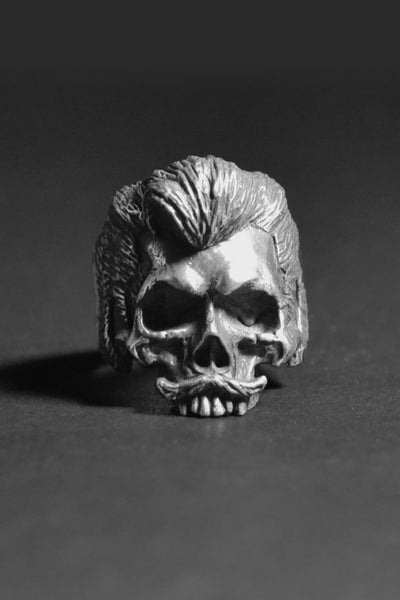 """Slick Boy"" Skull Ring"