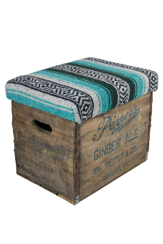Mexican Blanket Ginger Ale Stool