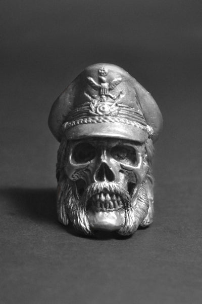 """The Legend"" Skull Ring"