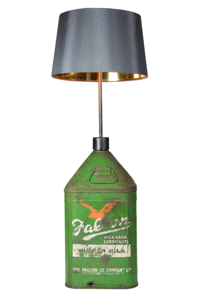 Vintage Falcon Oil Can Lamp