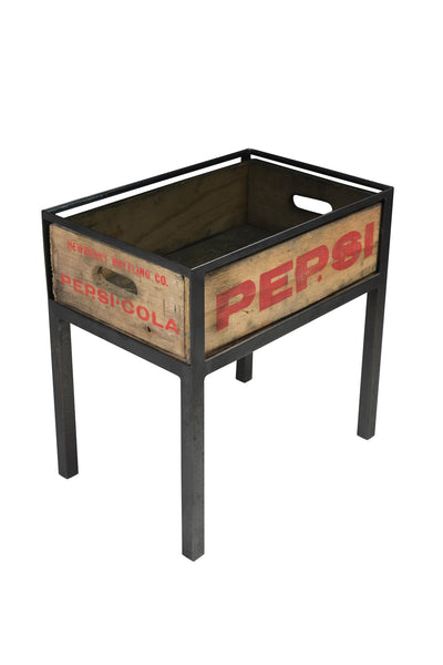 Pepsi Cola Crate Table (Single Crate Table)