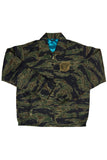 """Rust And The Wolf"" Brand Vietnam War ""Tadpole"" Pattern Souvenir Jacket."