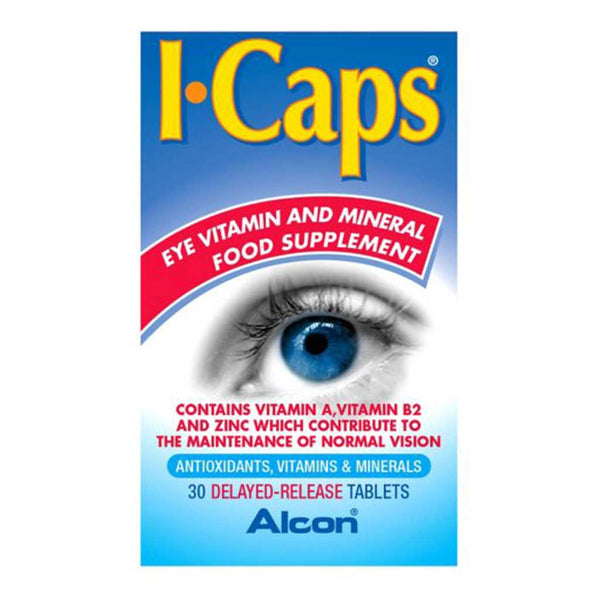 Alcon ICaps Eye Supplement Tablets