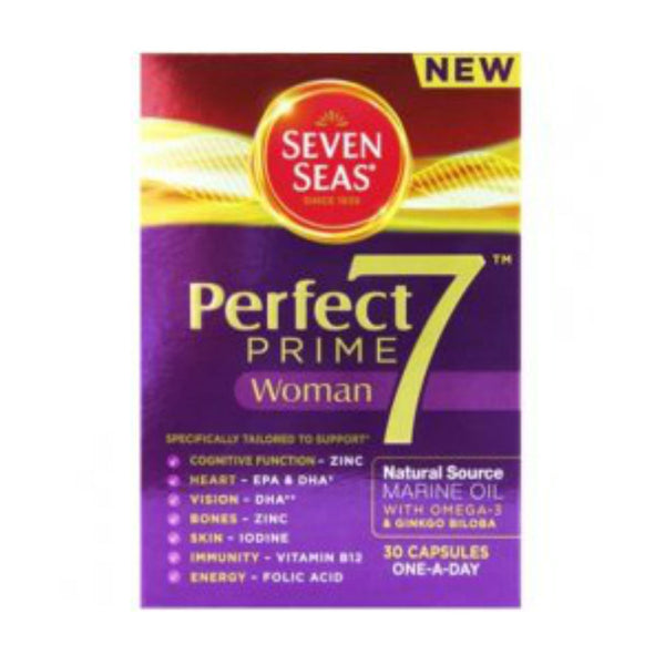Seven Seas Perfect 7 Prime Woman Capsules 30