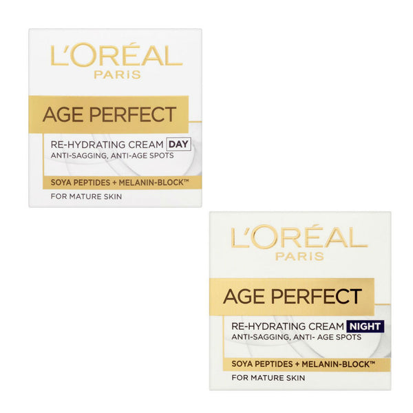L'Oreal Age Perfect Re-Hydrating Day and Night Cream Value Pack