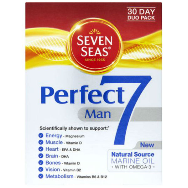 Seven Seas Perfect 7 Man 30 Day Duo Pack
