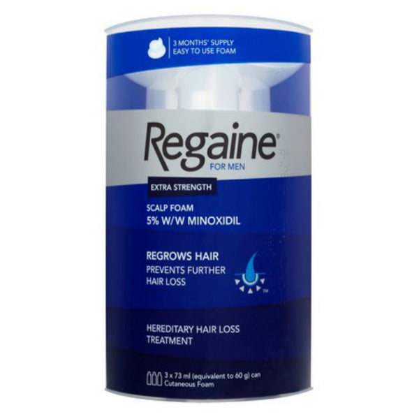 Regaine For Men Extra Strength 3 Month Pack