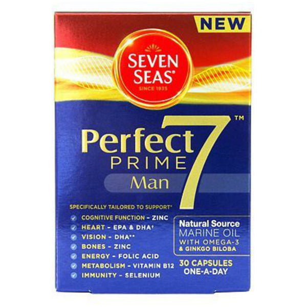 Seven Seas Perfect 7 Prime Man Capsules 30