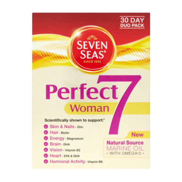 Seven Seas Perfect 7 Woman 30 Day Duo Pack