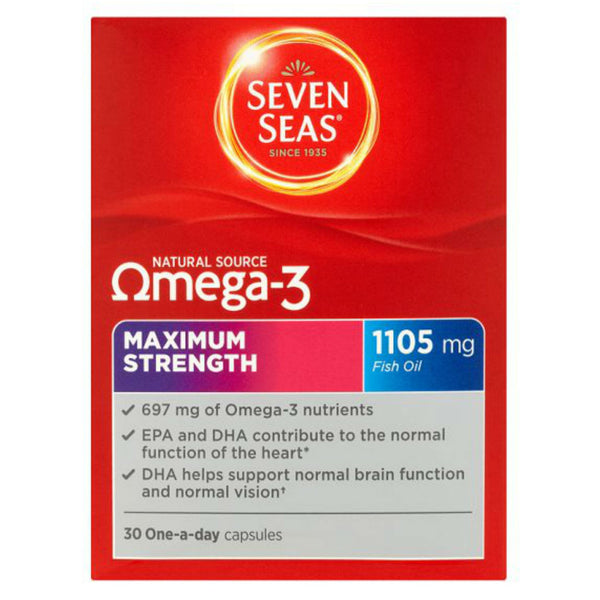 Seven Seas Omega-3 Maximum Strength Capsules 30
