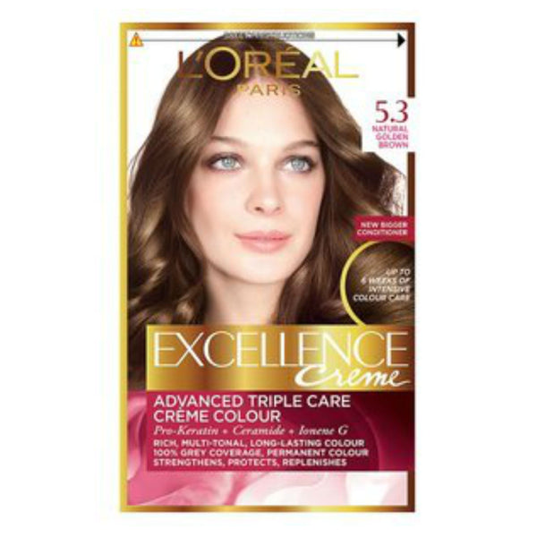 L'Oreal Excellence Natural Golden Brown 5.3