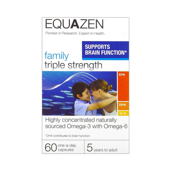 Equazen Eye Q Family Triple Strength Capsules