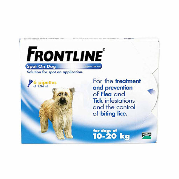 Frontline DOG 10-20 Kg [Medium Dog] (3 PACK)
