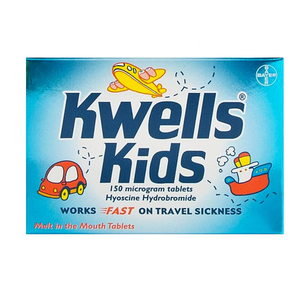 Kwells Kids for Travel Sickness (12 tablets)