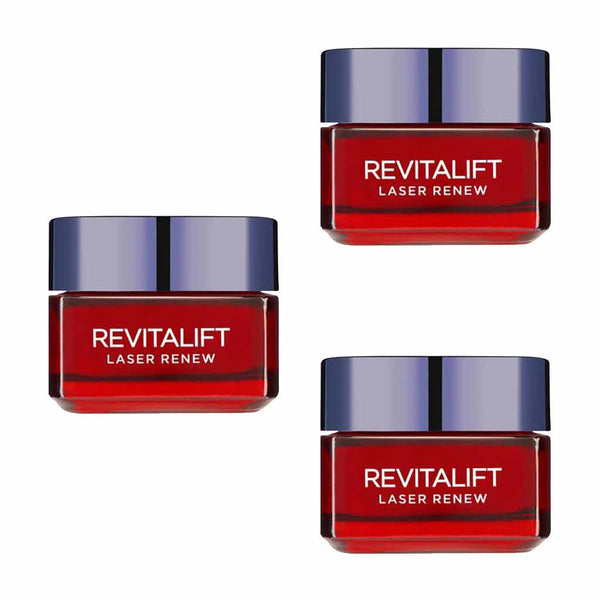 L'Oreal Revitalift Laser Renew Anti-Ageing Moisturiser Multi-buy