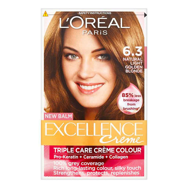 L'Oreal Excellence Light Golden Brown 6.3