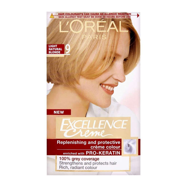 L'Oreal Excellence Natural Light Blonde 9