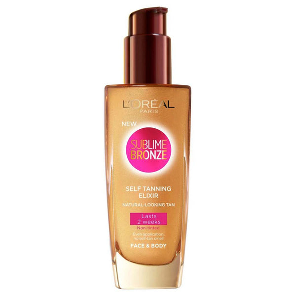 L'Oreal Sublime Bronze Fabulous Elixir Self Tan 100ml