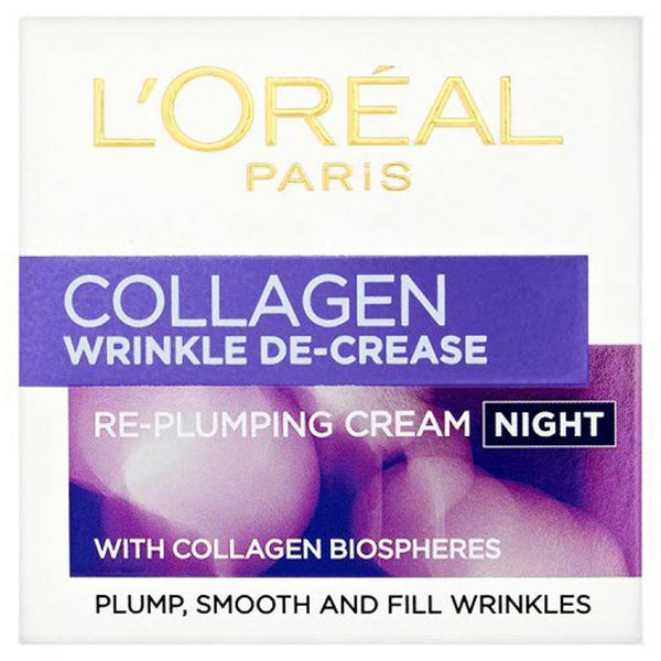 L'Oreal Wrinkle Decrease Collagen Re-Plumping Night Cream