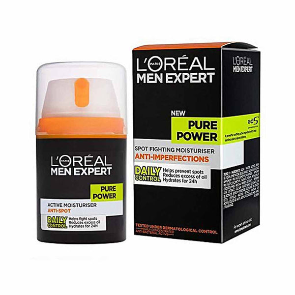 Loreal L'Oréal Men Expert Pure Power Moisturiser 50ml