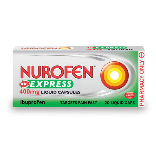Nurofen Express 400mg Liquid Capsules 20