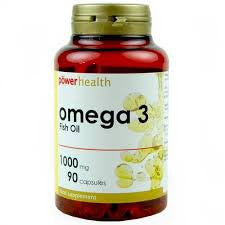 Power Health Omega 3 Fish Oil Capsules 1000mg 90