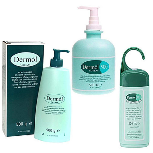 dermol-cream-lotion-shower-gel-multibuy