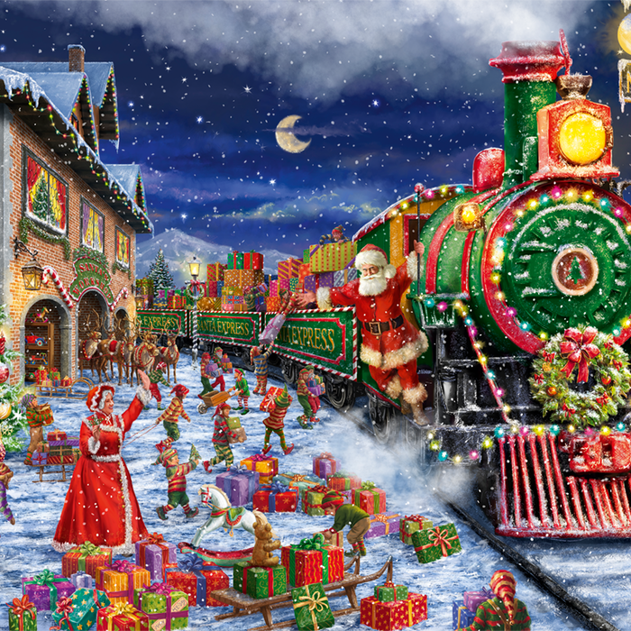 limited edition christmas jigsaw puzzles