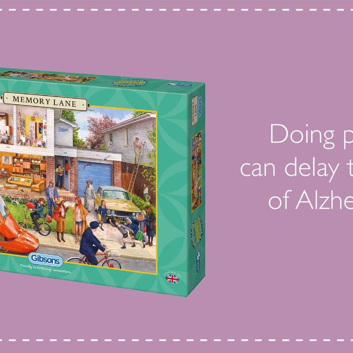 Doing puzzles can delay the onset of Alzheimer's