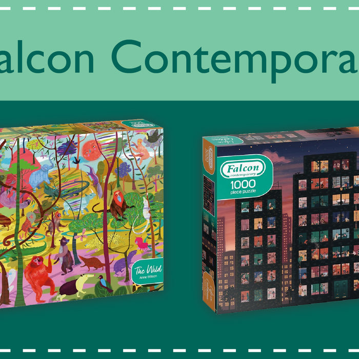 Explore the New Falcon Contemporary Jigsaw Range!