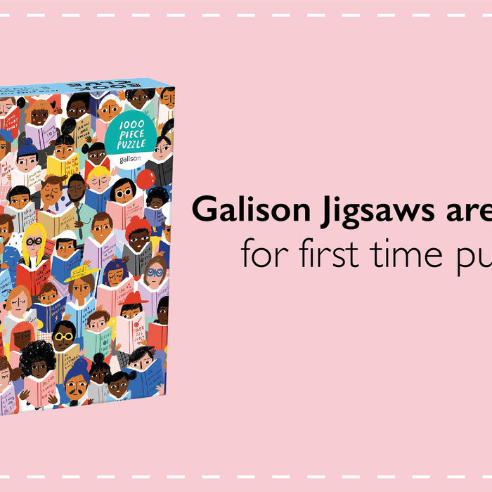 Galison Jigsaws are a delight for a puzzler who (pretends she) doesn't puzzle!
