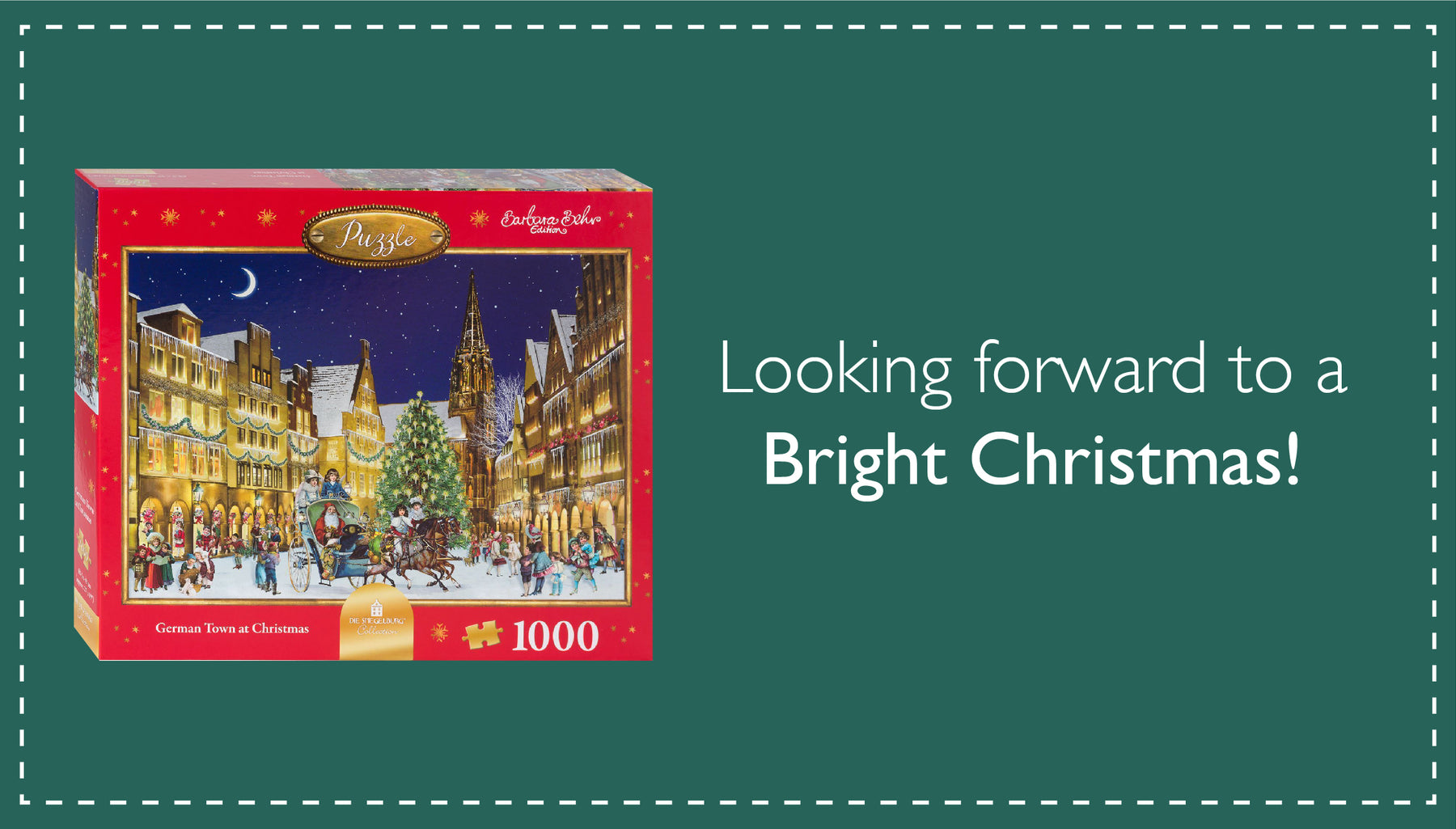 Looking forward to a bright Christmas with Alison Gardiner Jigsaws