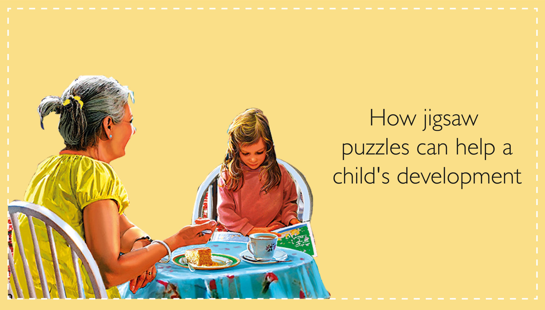 How jigsaw puzzles can help a child's development