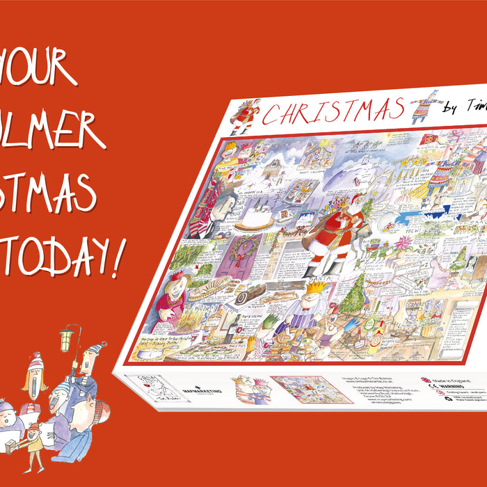 The Tim Bulmer Christmas Jigsaw Puzzle is here!