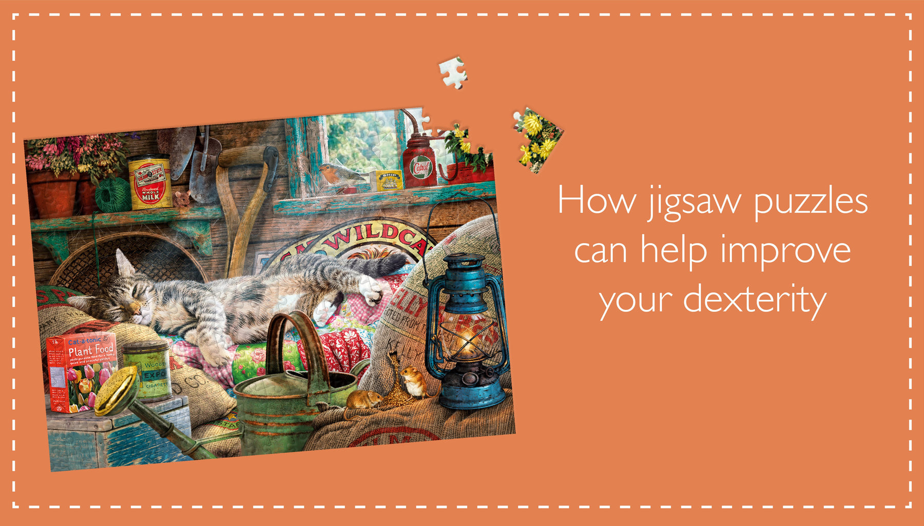 How jigsaw puzzles can help improve your dexterity