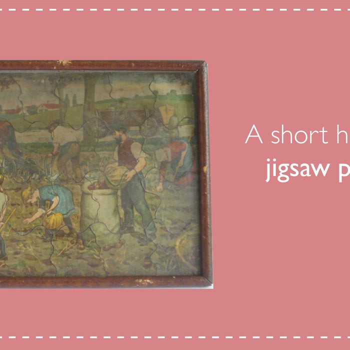 A short history of jigsaw puzzles