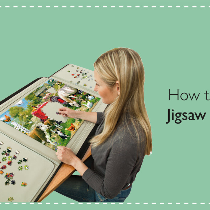 How to Store Jigsaw Puzzles