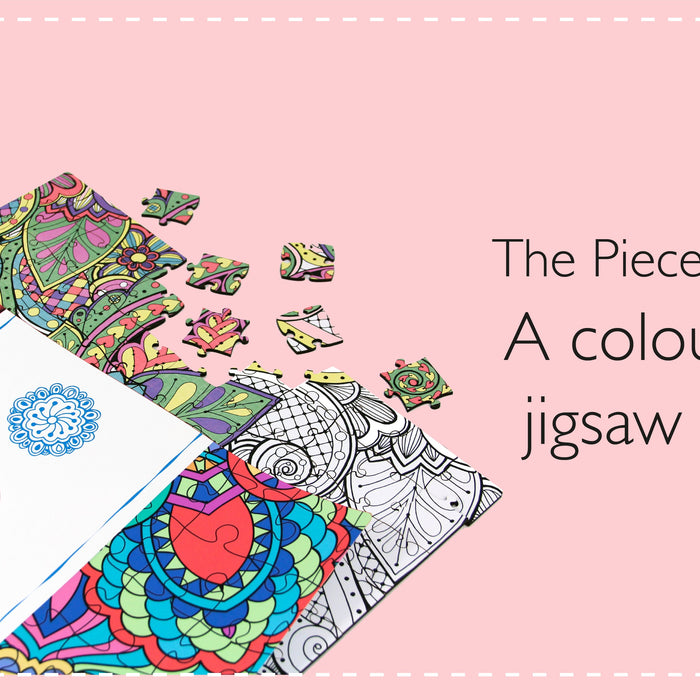 The Pieceful Puzzle - A colouring-in jigsaw puzzle