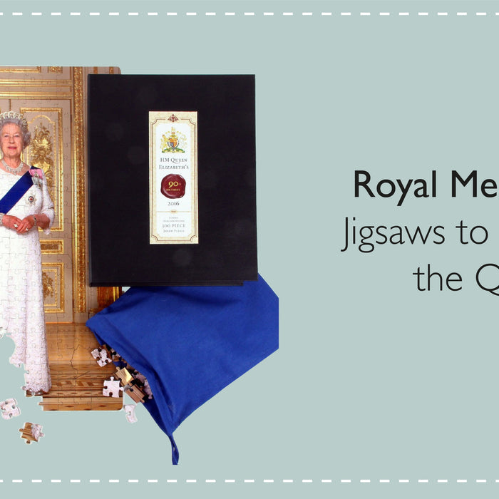 Jigsaws to celebrate the Queen - Royal Memorabilia