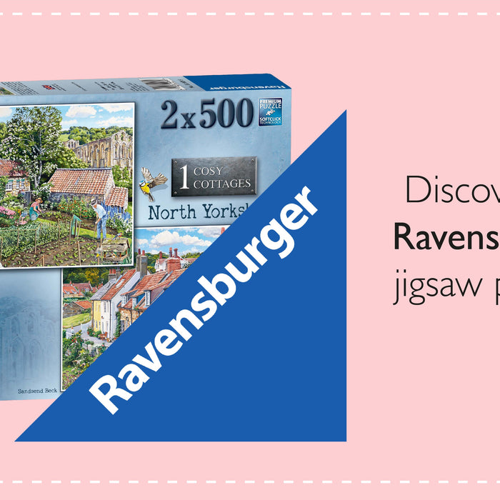Discovering Ravensburger jigsaw puzzles