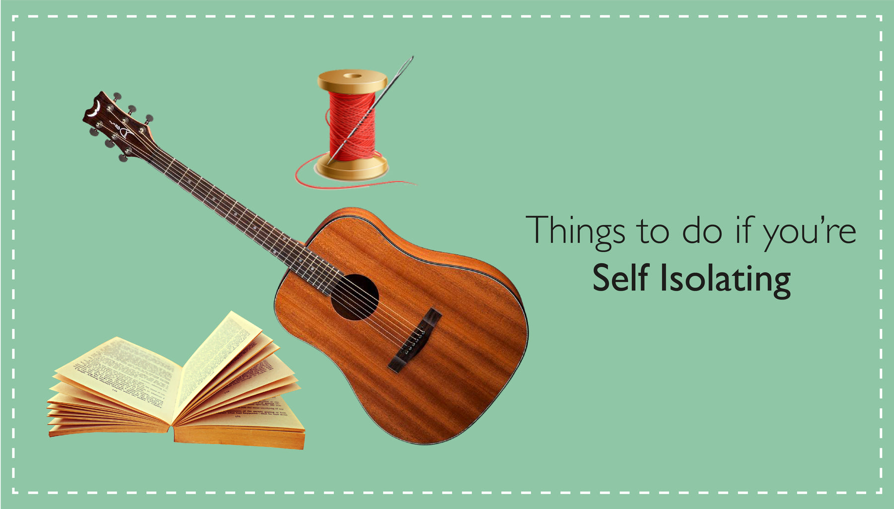 Things to do if you're self-isolating