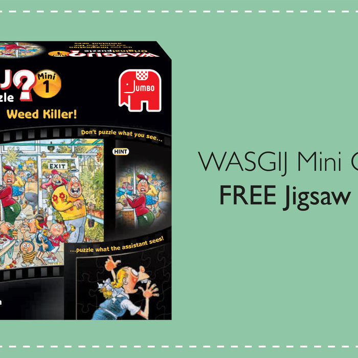 Mini Original 1 'Weed Killer' Wasgij Jigsaw Puzzle - FREE with every order over £30!