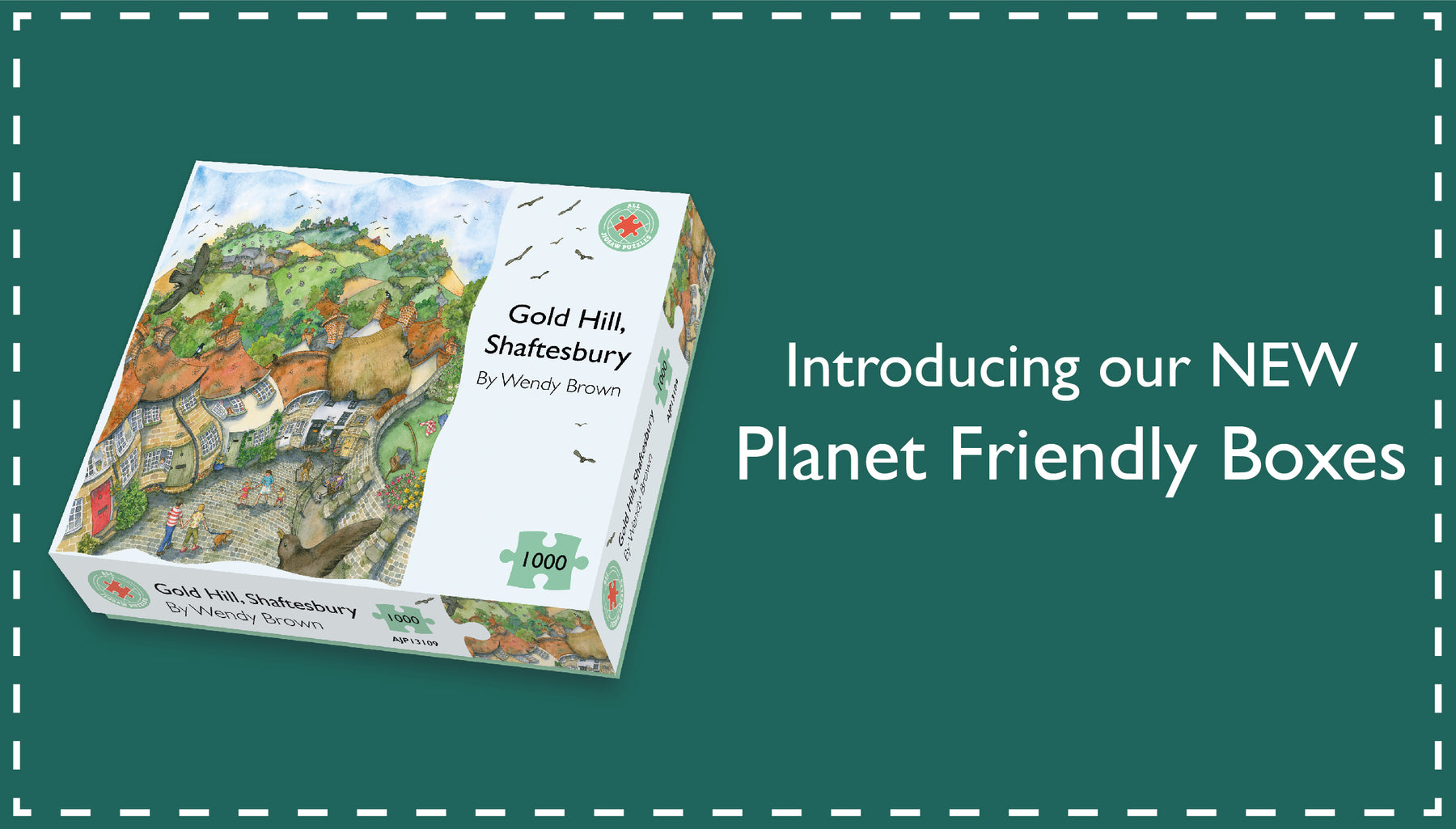 Introducing our new Planet Friendly Boxes!