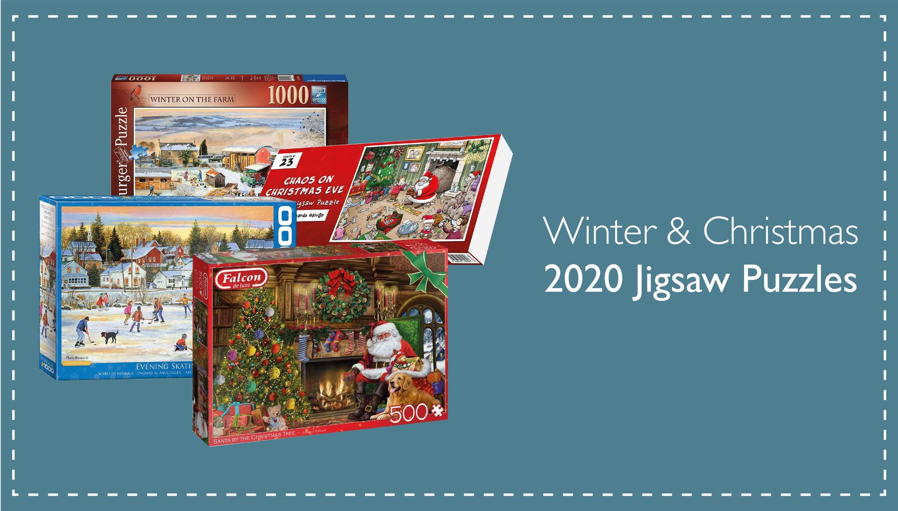 Christmas jigsaw puzzles from All Jigsaw Puzzles