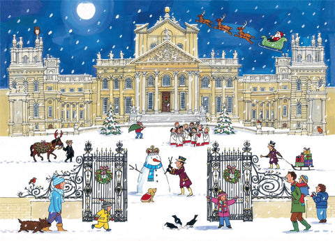 Christmas at the Palace 1000 Piece Jigsaw Puzzle