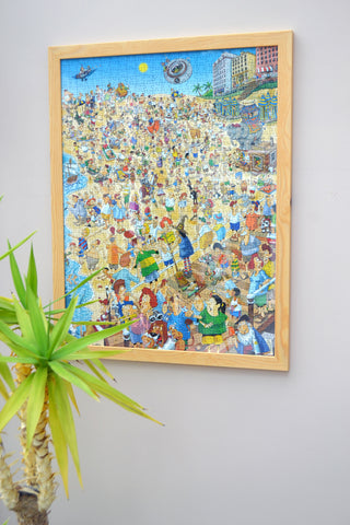 Wooden Frame for 1000 Piece Jigsaw Puzzles