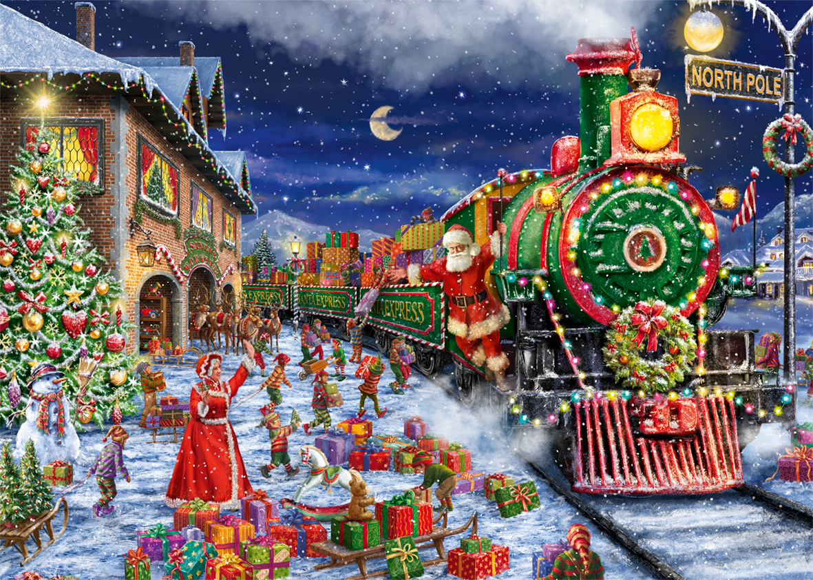 santa's special delivery christmas jigsaw puzzles