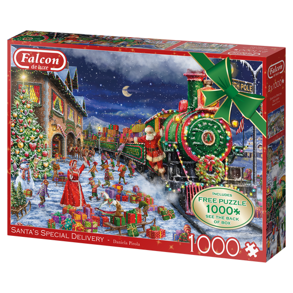 Santa's Special Delivery Falcon de Luxe Limited Edition Jigsaw Puzzle